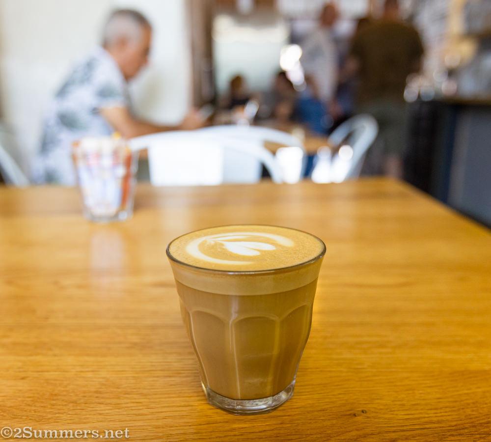 Cortado from Loof Coffee