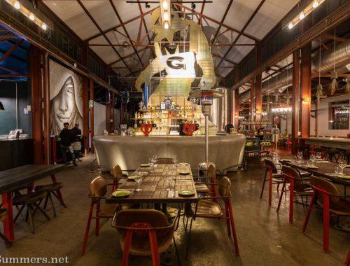 Inside Urbanologi restaurant