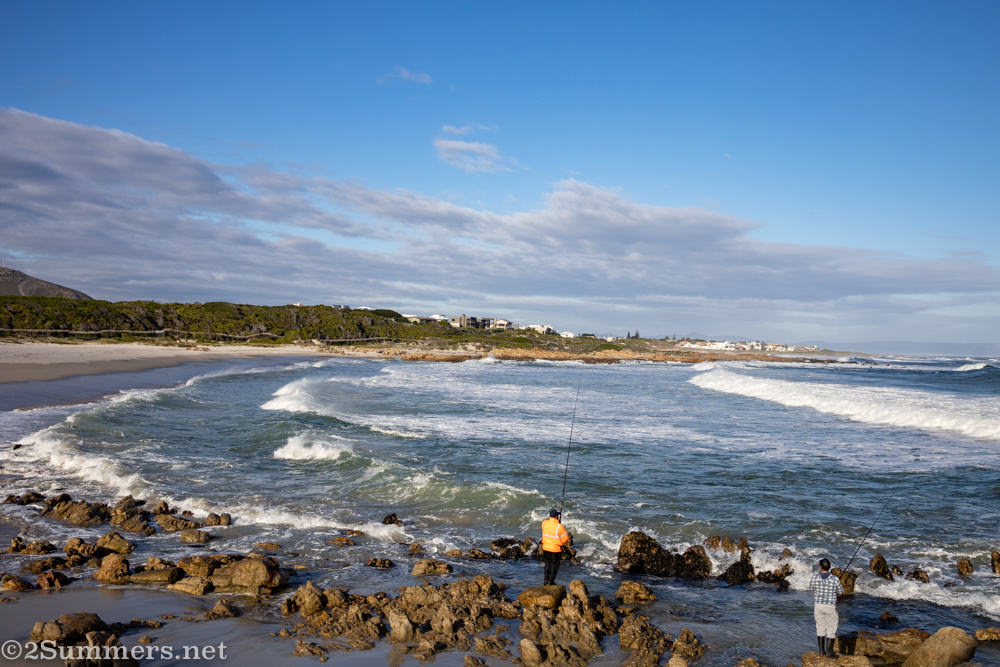 Onrus Beach in Hermanus