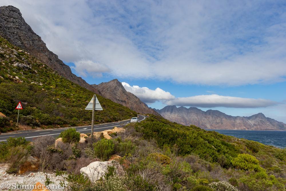 R44 Highway between Cape Town and Hermanus