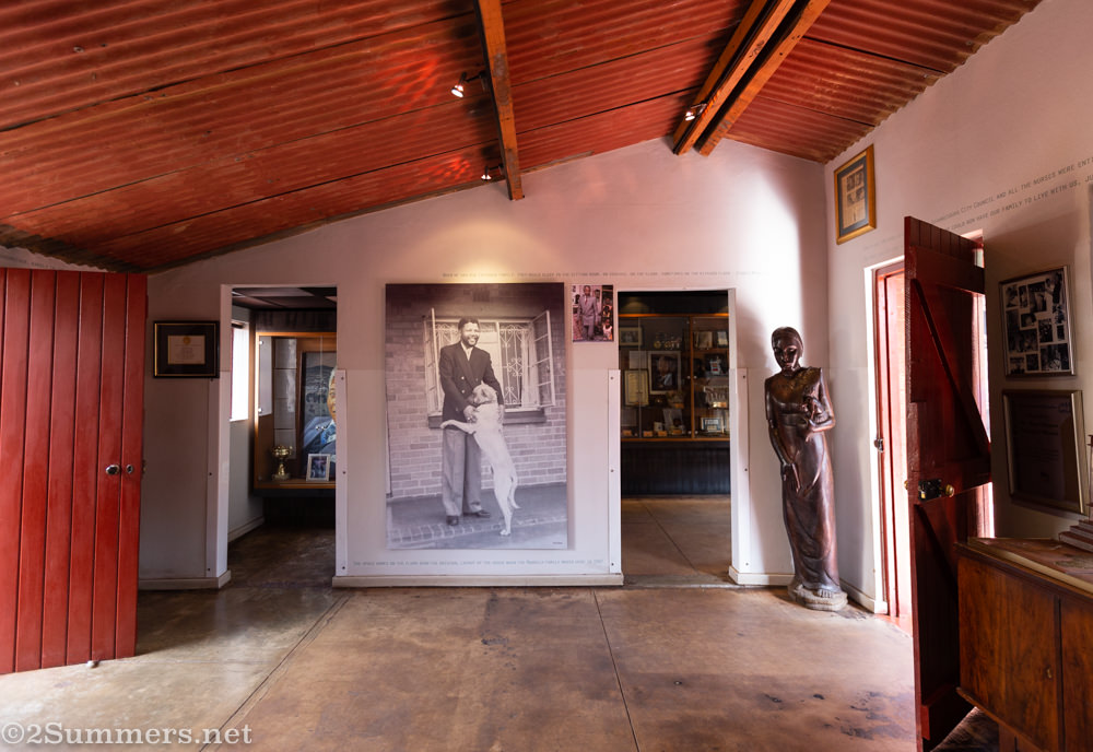 Inside Mandela House, a museum on Vilakazi Street in Soweto