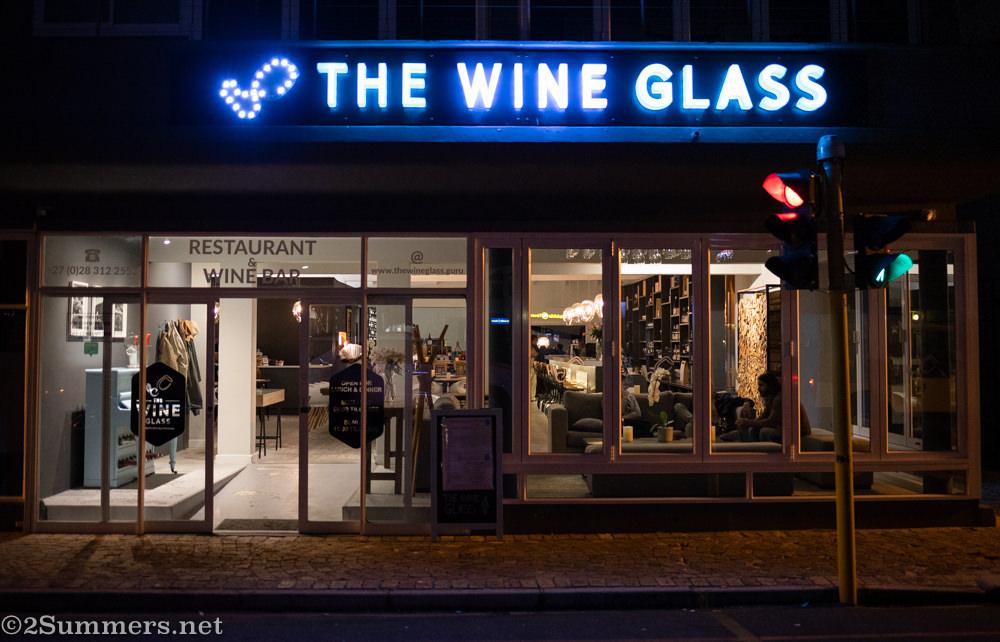 The Wine Glass in Hermanus