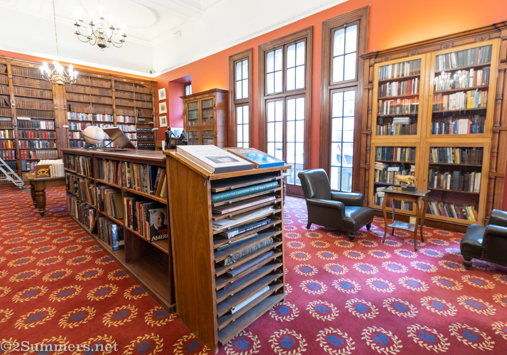 Rand Club library
