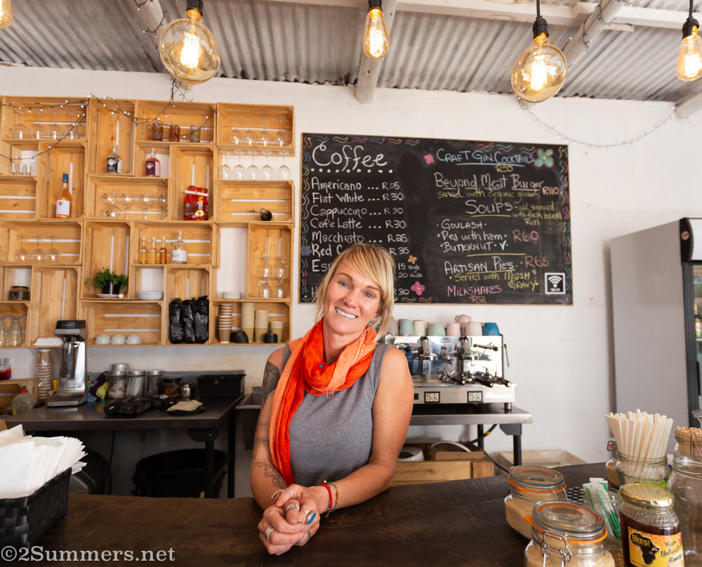 Angie Paterson of Magoebaskloof Farmstall