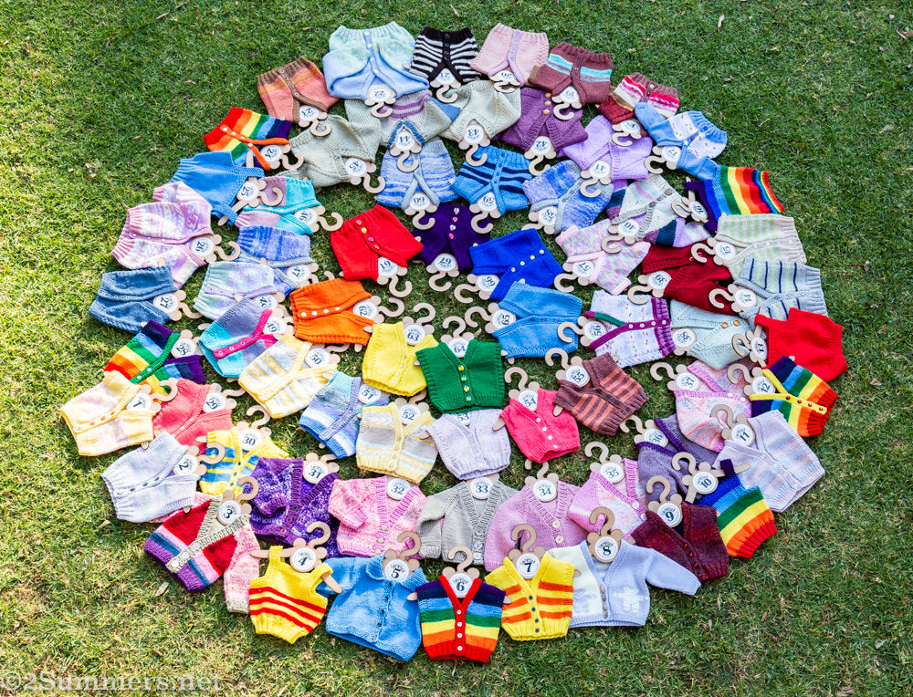 67 sweaters for Nelson Mandela Day