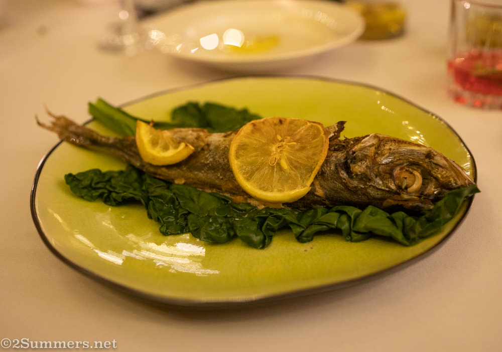 Mozambican fish served during the JoburgPlaces Migrant Storytelling Dinner.