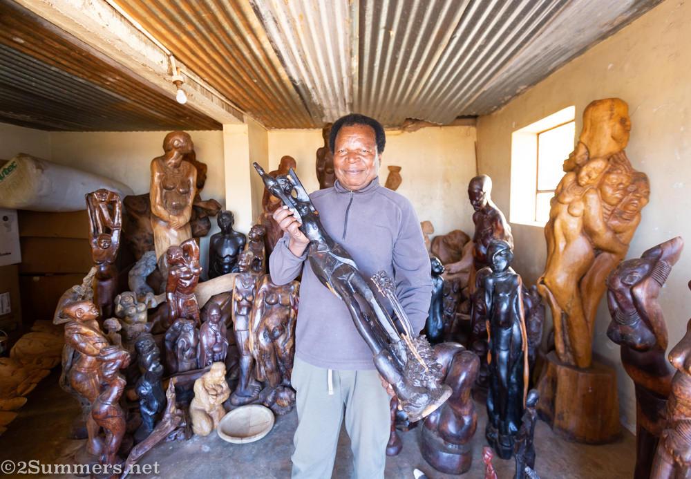 Sculpture by Mishack Rapalalani
