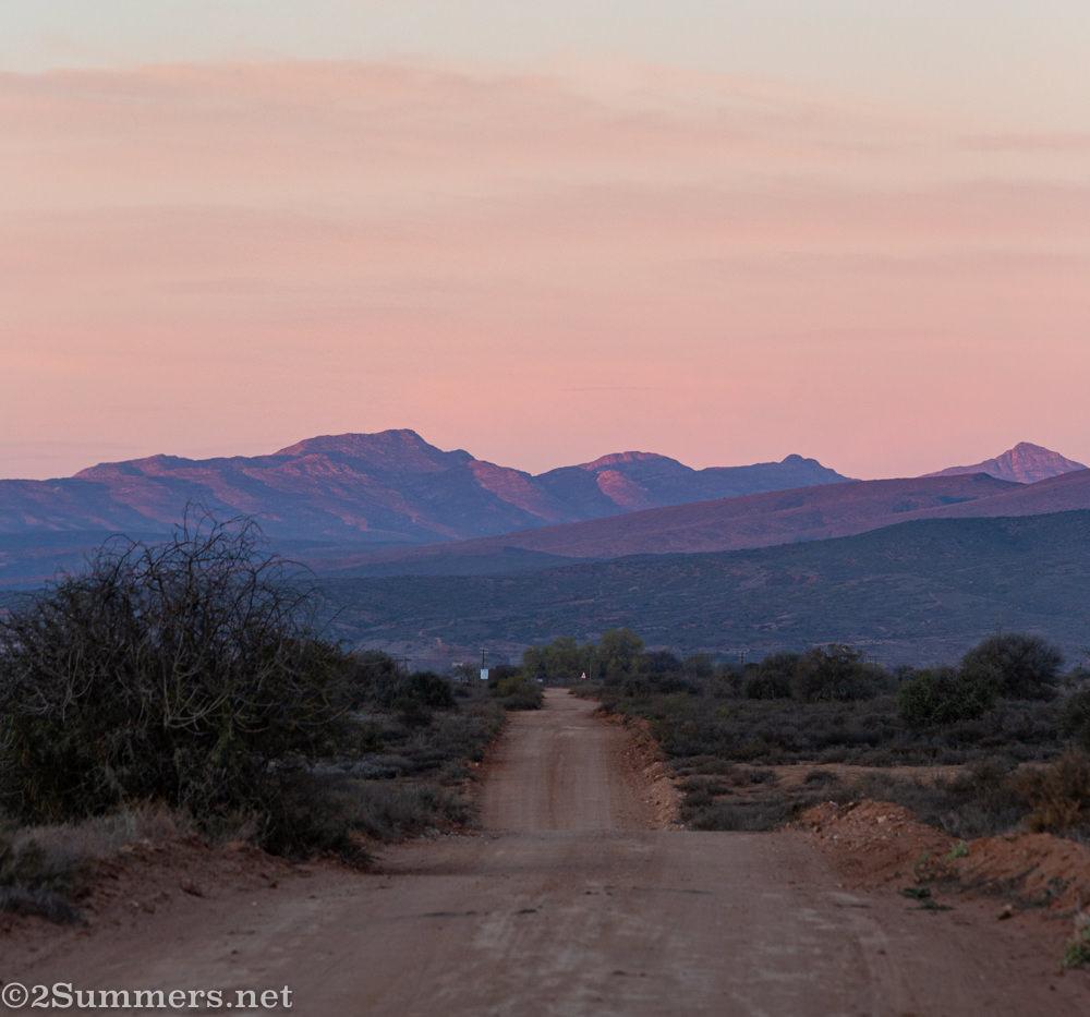 Oudtshoorn sunrise