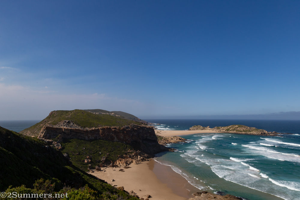 End of the Robberg hike