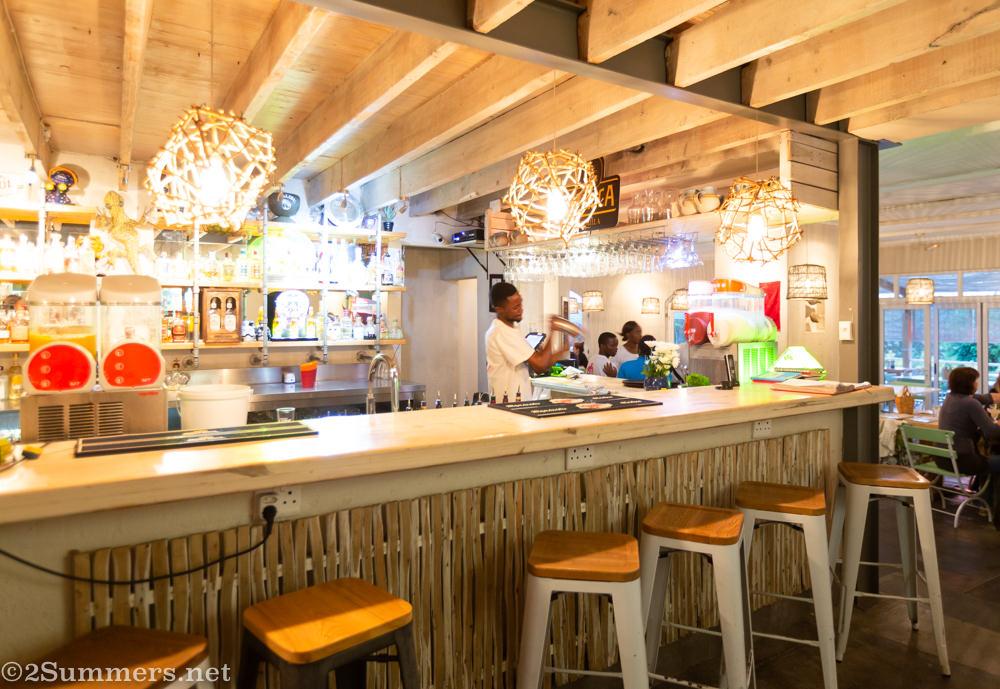 Inside Picasso's Mexican Taqueria, a Tex-Mex restaurant in Mpumalanga.