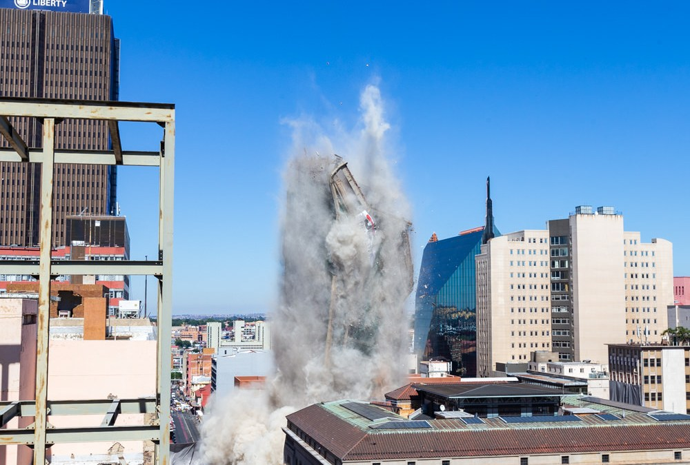Bank of Lisbon: The Implosion of a Jozi SkyScraper