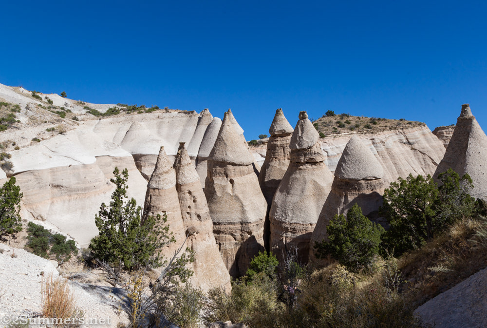 Tent Rocks formations
