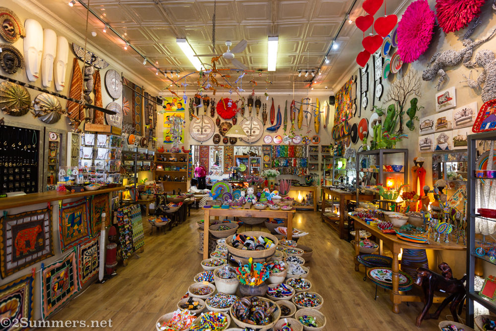 Art Africa shop in Parkview
