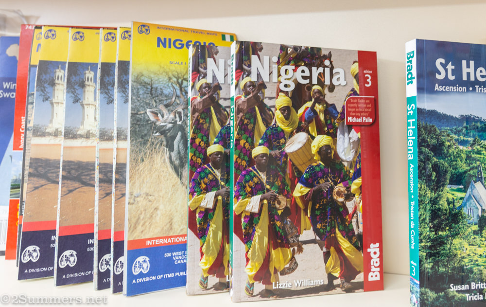 African travel books