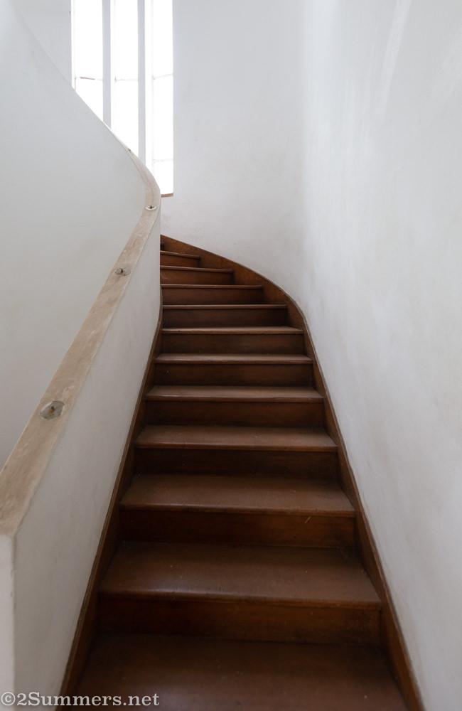Stairway at 9 Rose Road