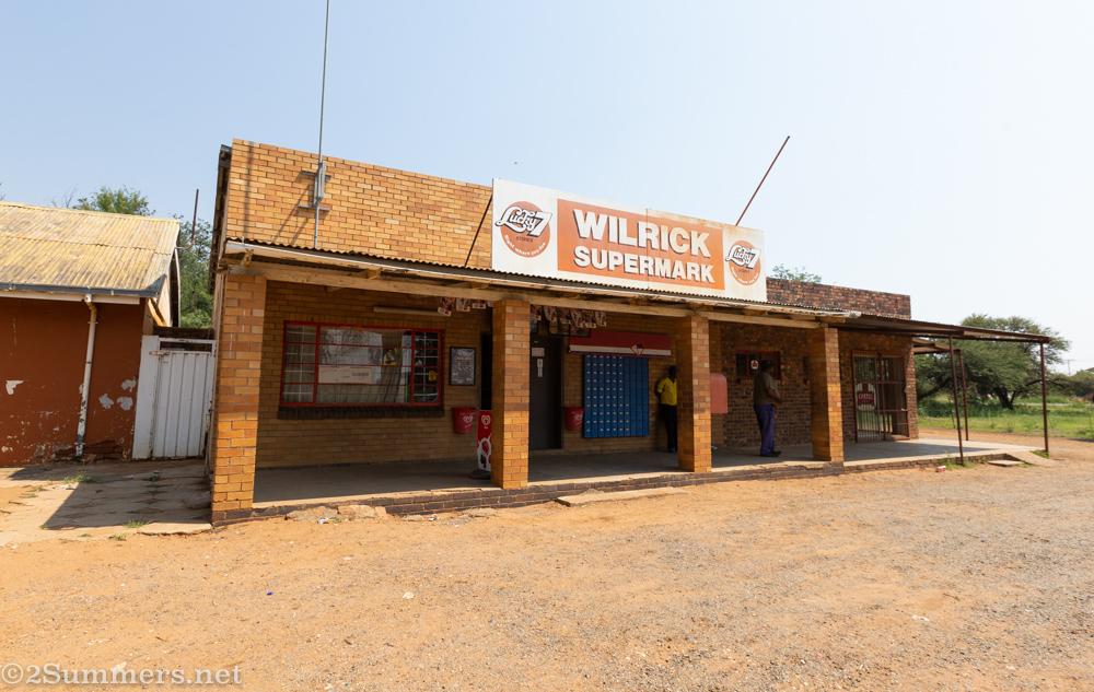 Patrick and Hercules' shop