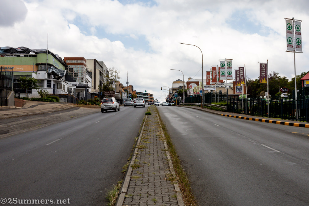 Melville Main Road during lockdown