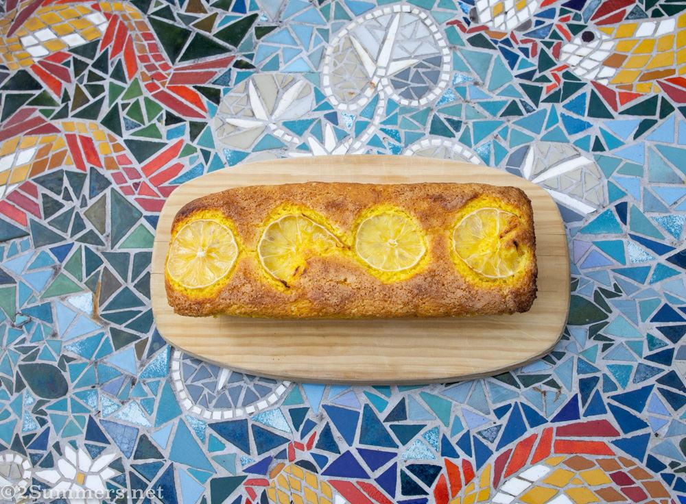 Lemon turmeric cake