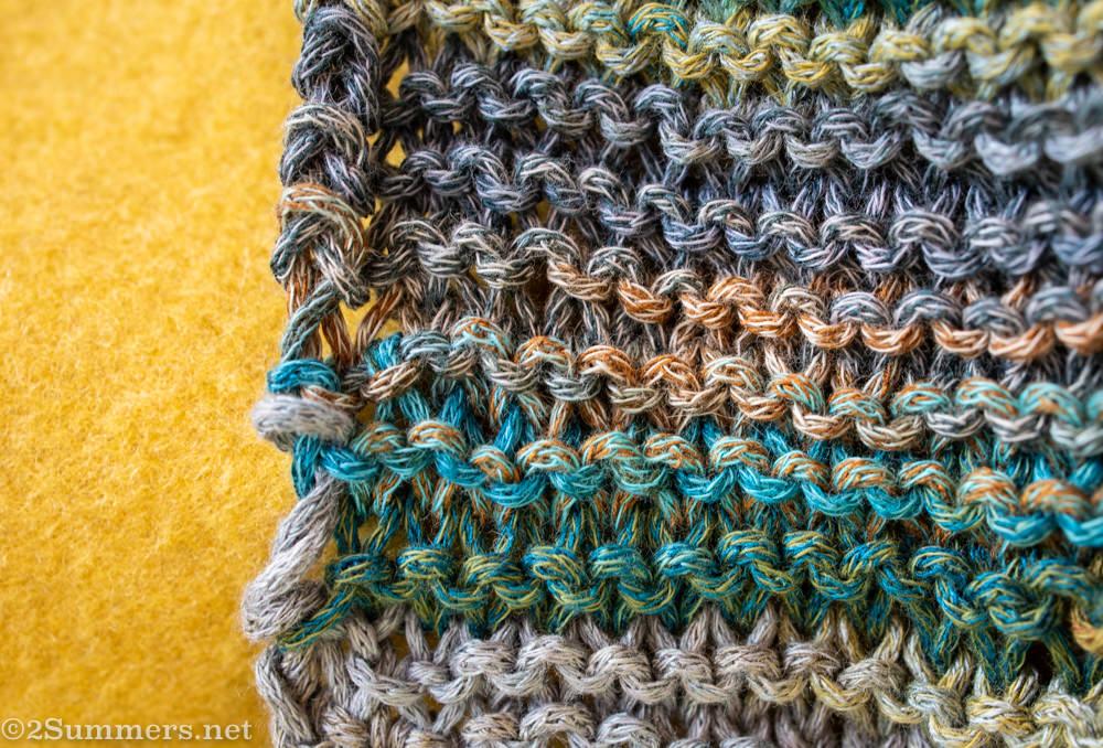 Heather's knitting