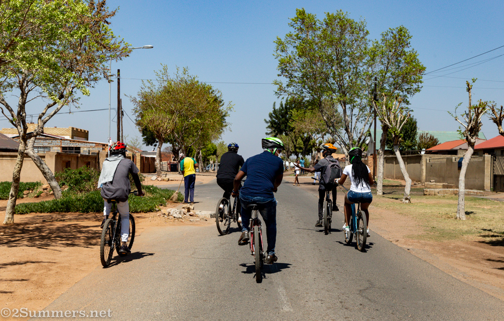 Cycling in Soweto With Locals