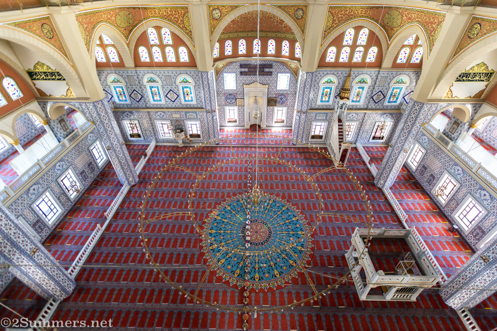 View From the Top of the Nizamiye Mosque