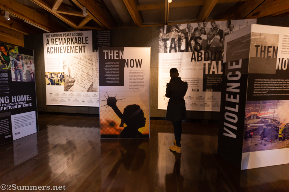 Nelly at the Nelson Mandela Centre of Memory