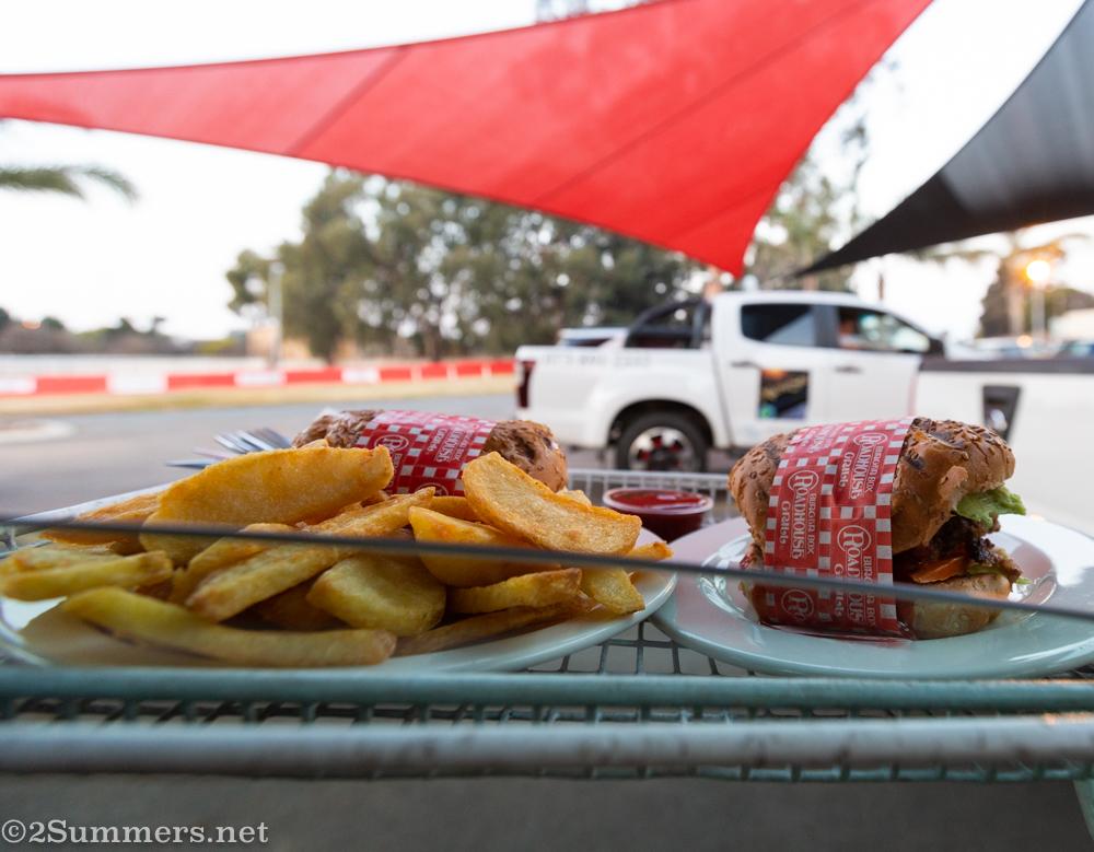 Chips at Burger Box