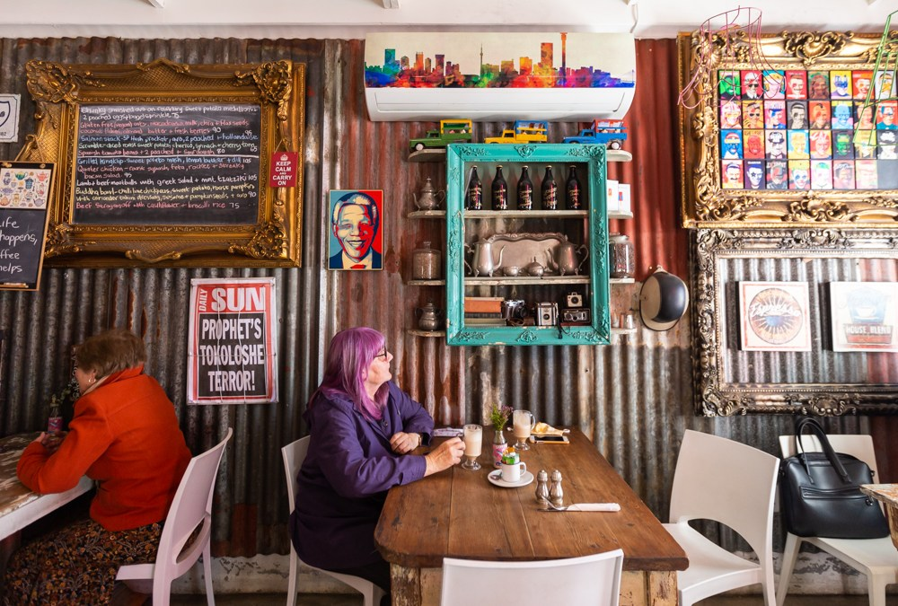 My Favorite Jozi Coffee Shops: Red Door Café in Edenvale