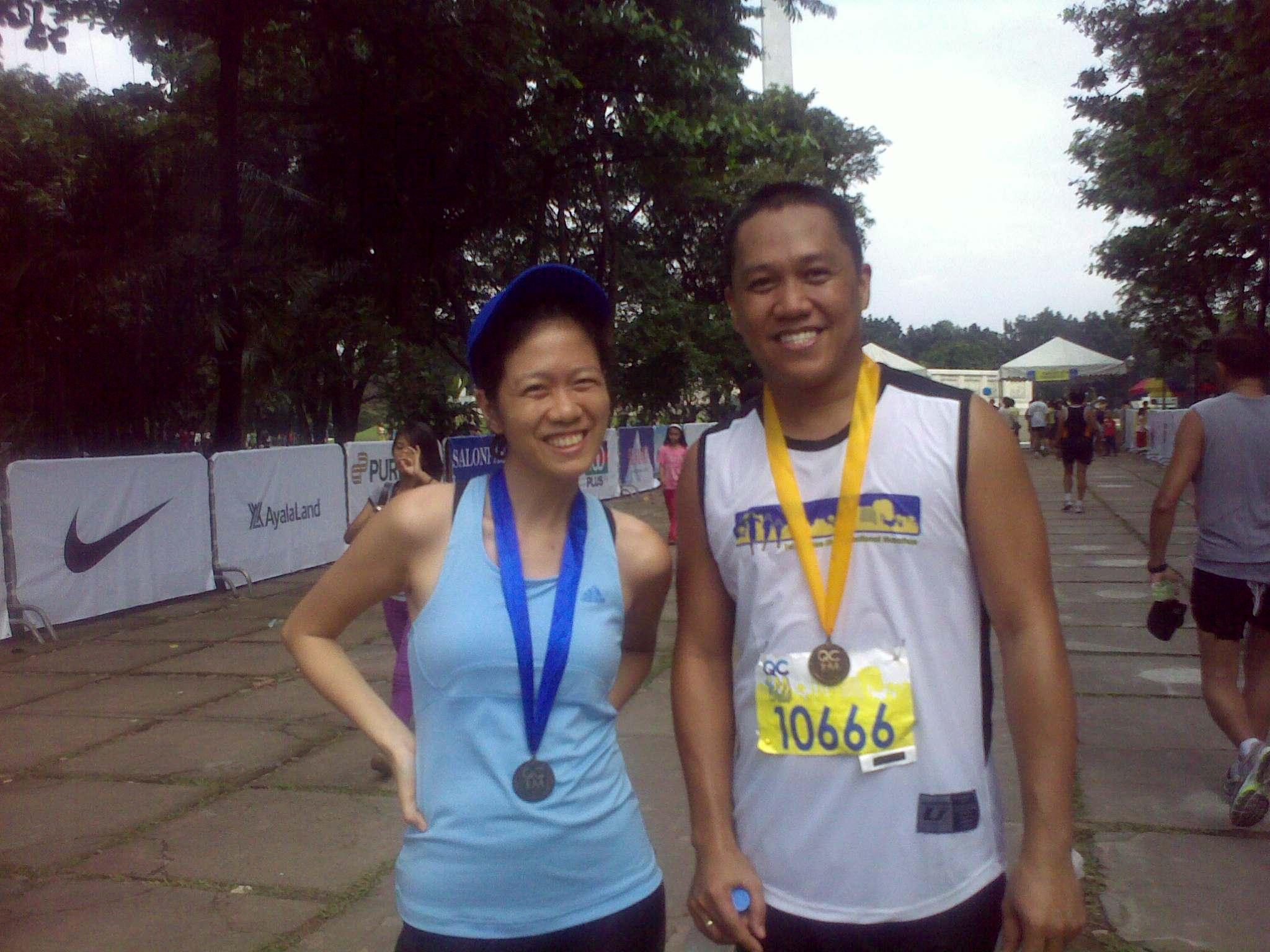 Classmate Jobaqs-Cramming 101!Congrats on your first Marathon!