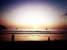 Sunset, Nai Harn Beach, Phuket, Thailand - 2011