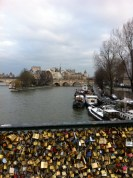 Pont des Arts, Paris, 2013