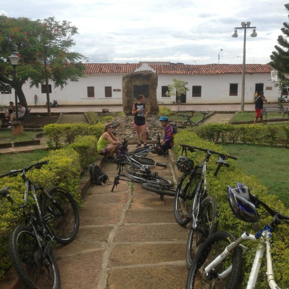 Mittagsstop in Guane
