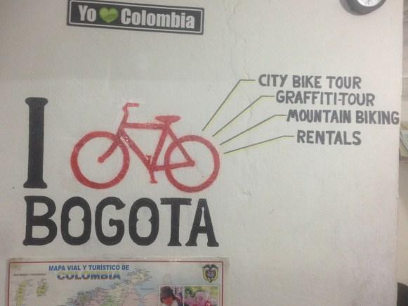 Biketour durch Bogota