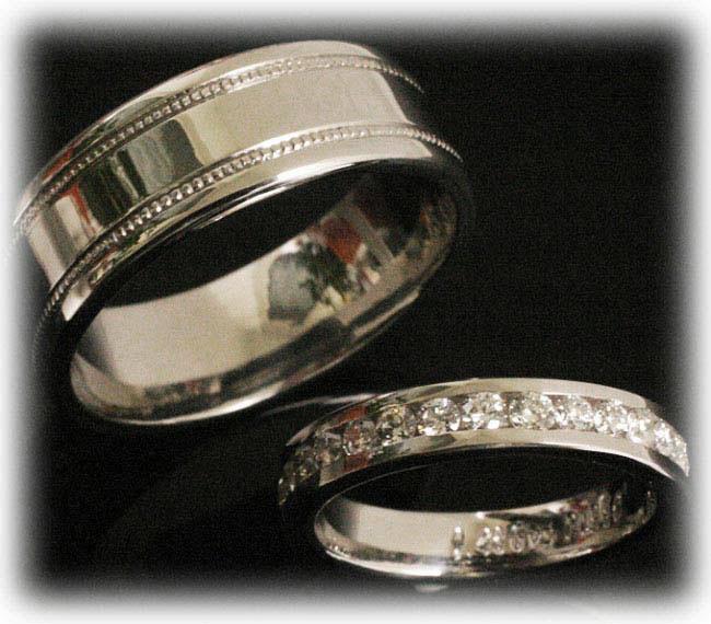 TrauringeEheringe IM387 30 Diamanten  090ct Weigold