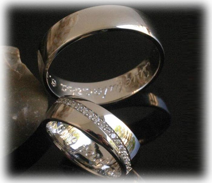 Trauringe Eheringe IM239 20 Diamanten  020ct Weigold