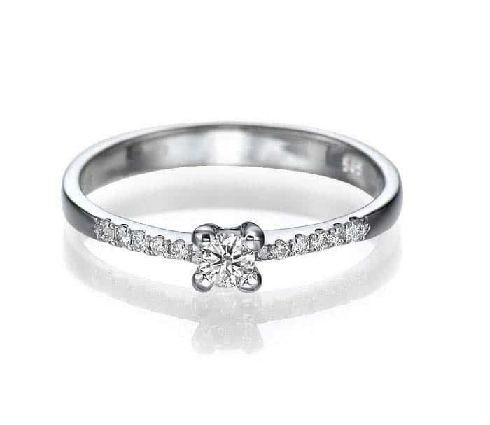 VerlobungsringPartnerring IM674 mit Diamanten 030ct