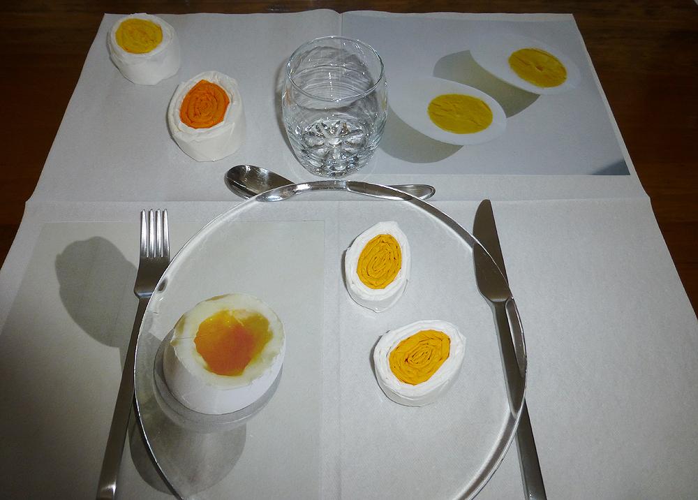 Pliage De Serviette De Table En Forme Doeuf Origami Oeuf Plier Une Serviette En Papier En