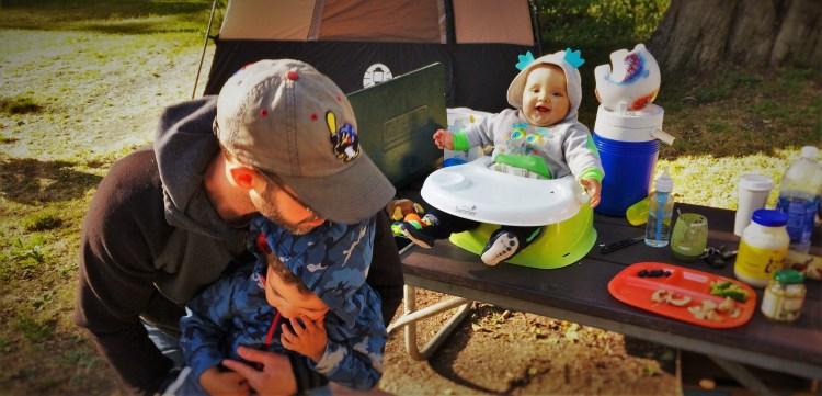 Camping at Salt Creek Olympic Peninsula