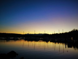 Port Ludlow Marina Sunset