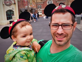 Chris Taylor and LittleMan in DCA