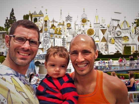 Taylor Family Small World Disneyland