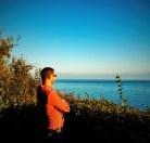Chris Taylor at Beacon Hill Park Viewpoint Victoria BC