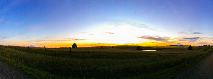 Mt Hood Mt Adams Pacific Northwest sunsets 2traveldads.com
