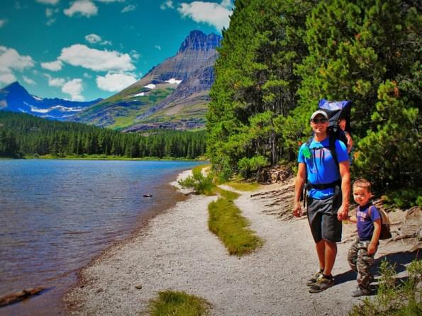 Rob Taylor and Dudes at Bullhead Lake Glacier National Park