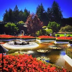 Buchart Italianate Gardens