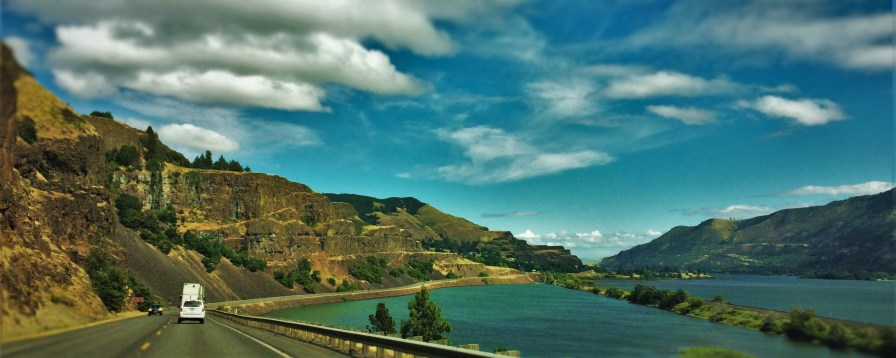Buttes on Columbia River Gorge Hwy 14 header