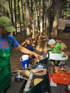 Chris Taylor Camping Cooking 1