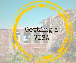 Getting a VISA