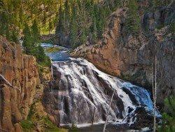 Gibbon Falls Yellowstone 2
