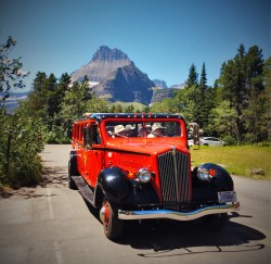 Glacier National Park Tour Bus 2